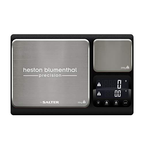 Salter balanza de precisión de Doble Plataforma Bßscula de Cocina electrŸnica lÝnea Heston, Dual...