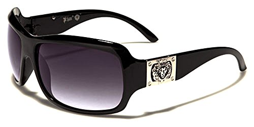 Kleo Sonnenbrillen - Mode - Fashion - Pilotenbrille - Radfahren - Skifahren - Laufen - Driving - Motorradfahrer / Mod. Capri Schwarz