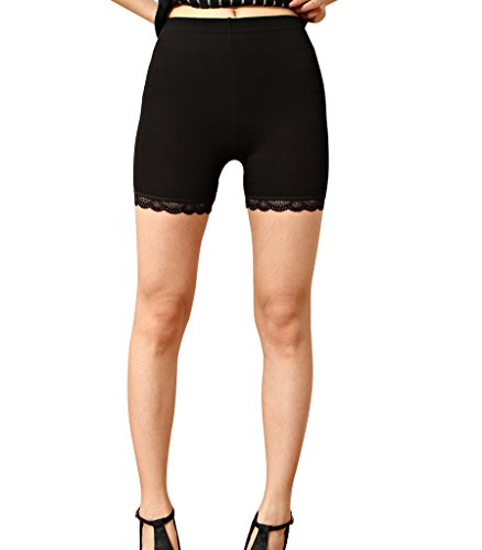 Liang Rou Women's Ultra Thin Stretch Safety Short Leggings