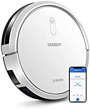 ECOVACS DEEBOT N79T Smart Robotic Vacuum Cleaner Max Model لجميع أنواع الأرضيات مع Wi-Fi Connectivity Work with Alexa
