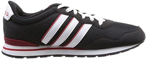 Adidas F97840, Herren Laufschuhe Mehrfarbig (Cblack/Ftwwht/Powred)