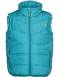 VAUDE Weste Kids Arctic Fox Vest  II - Chaleco para niño, color turquesa, talla 15 años (164 cm) [DE 158/164]