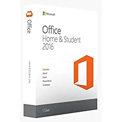 Microsoft Office Home and Student 2016 for 1 PC - New & unused - (Product Key without DVD) - Word, Excel, PowerPoint and OneNote