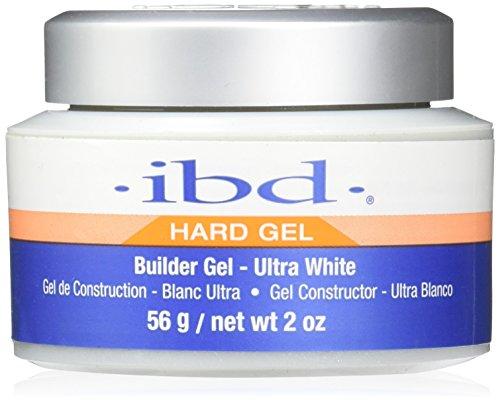 IBD Nail Treatments Ultra white Builder Gel, 1er Pack (1 x 56 ml) - White Builder Gel