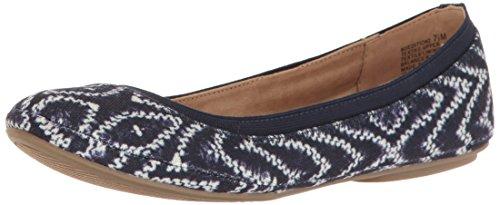 Bandolino Frauen Flache Schuhe Blau Groesse 6.5 US /37.5 EU