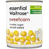 Maíz Dulce 200G Esencial Waitrose - Paquete de 4