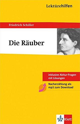 Klett Lektürehilfen Schiller Die Räuber: für Oberstufe und Abitur - Interpretationshilfe für die Schule