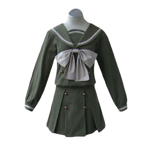 Dream2Reality japanische Anime Shakugan no Shana Cosplay Kostuem - Misaki Municipal High School Winter Uniform Kid Size Large (Shana Cosplay Kostüm)