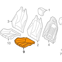 GTV INVESTMENTS i8 l12 Cojín de espuma para asiento delantero izquierdo 52107398707 7398707