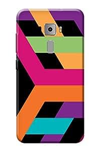 Asus Zenfone 3 ZE520KL Back Cover KanvasCases Premium Designer 3D Printed Hard Case (5.2 INCH)