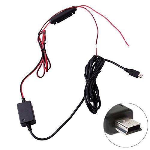 niceEshop Dash Cam Festverdrahten Installation Kit Mini USB -