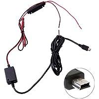niceEshop(TM) Grabadora de Conducción Hardwire Kit de Instalación Mini USB para Garmin 10 20 30 35 Rexing V1 G1W Novatek A118