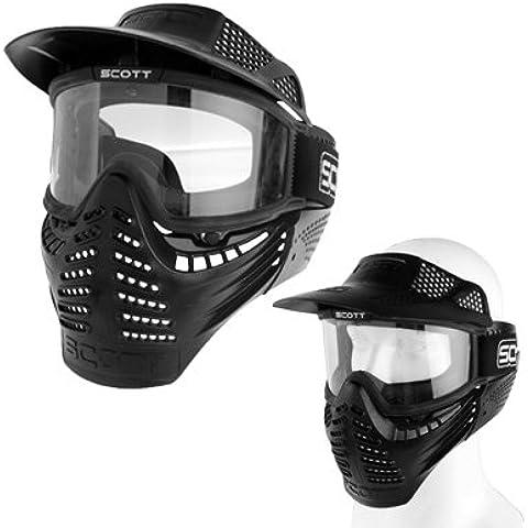 Protección Al Aire Libre Juego De Guerra Militar Táctico De Cara Completa Máscara Escudo