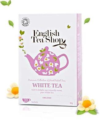 Collection de thé blanc cueilli à la main au Sri Lanka - Thé blanc/biologique de thé blanc - 6 x 20 sachets (240 grammes)