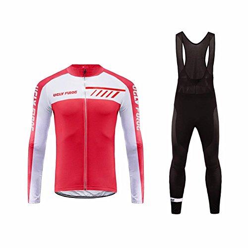Uglyfrog Maillot Ciclismo Bodies 2018 Primavera Nuevo Hombre Cycling Jersey + Pantalones...