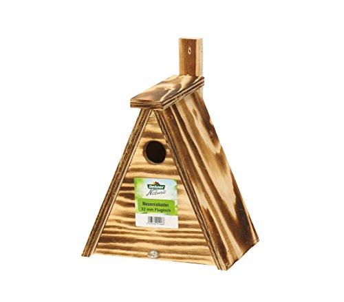 Dehner Nistkasten für Meisen, Einflugloch Ø 32 mm, Holz