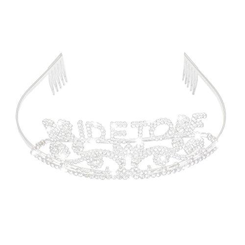 Funkeln Kristall Braut Zu Tiarakrone Bachelorette Party Hochzeitsgeschenk Sein
