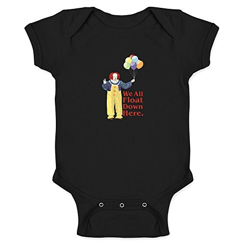 Pop Threads We All Float Down Here Minimalist Movie Infant Bodysuit by
