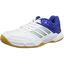 adidas Speedcourt M, Zapatillas de Balonmano para Hombre, Blanco (Black 00), 45.5 EU