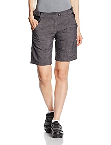 CMP Damen Rad Mountain Bike Shorts, Nero, 36, 3C90256T (Mountainbike Radhose)