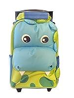 Kids Tough Dinosaur Travel Trolly Bag - Cute and Practical!