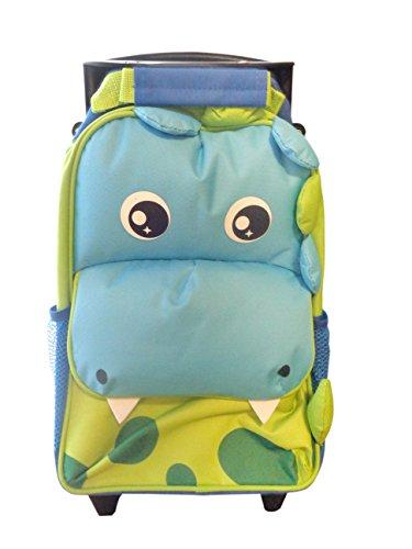 Bolsa de viaje para niños con ruedas y asa...