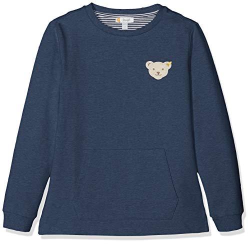 Steiff Jungen Sweatshirt, Blau (Black IRIS 3032), Herstellergröße:92