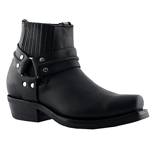 Grinders Mens Renegade Lo Leather Boots
