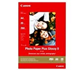 Canon Photo Paper Plus Glossy II PP201 papier photo A4 20 feuilles