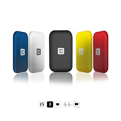 XOSS Brustgurt Herzfrequenzmesser Bluetooth 4.0 Wireless Herzfrequenz mit Brustgurt Gesundheit Zubehör, Black Bluetooth&ANT+