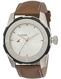 Fastrack Economy 2013 Analog White Dial Men's Watch -NK3099SL01
