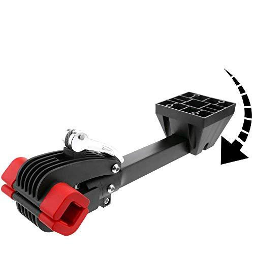 PrimeMatik - Soporte de Pared Plegable para reparación de Bicicleta