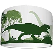 LED Kinderlampe Dinosaurier Dinos Dinosaurier Dino-sauria 73453 Warmwei/ß 1300lm Jungen /& M/ädchen Kinderzimmerlampe Deckenlampe