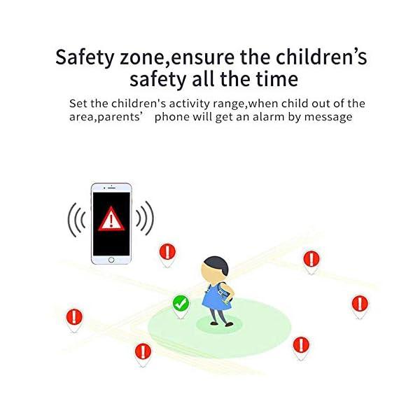 FOONEE Reloj GPS Tracker para niños, Reloj Inteligente Teléfono para niños de 3 a 12 años Niños pequeños Niños Niñas, 1… 8
