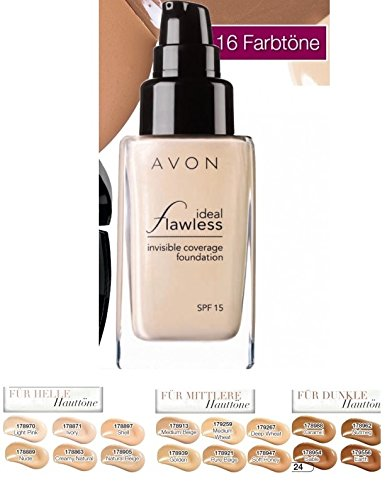 AVON Ideal Flawless Flüssiges Makeup Farbe NATURAL BEIGE