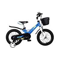 Lanq Hunter Kids Bike Alloy Children Bicycle,14 16 18 Inch Magnesium Alloy Frame Bikes