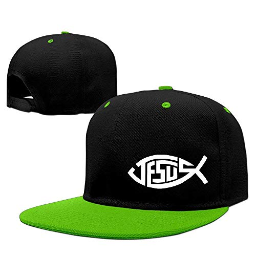 Cool Jesus Fish Christian Stylish Logo Trucker Hats Hip Hop Snapbacks