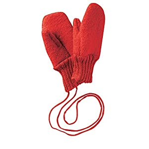Disana Walk – Guantes de lana con cordones, de lana de origen biológico controlado