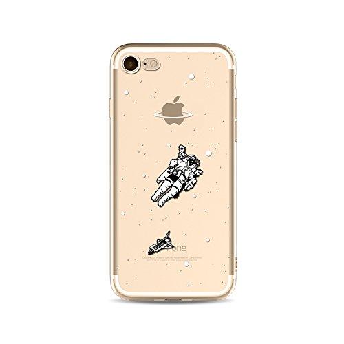 Coque iPhone 5 5s Housse étui-Case Transparent Liquid Crystal Capture de Rêve en TPU Silicone Clair,Protection Ultra Mince Premium,Coque Prime pour iPhone 5 5s-style 19 style 15