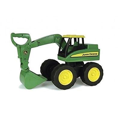 """TOMY Bagger """"John Deere Big Scoop"""" in grün - stabiler & robuster Kinderspielzeug Bagger aus Kunststoff für den Sandkasten - ab 3 Jahre von John Deere"""