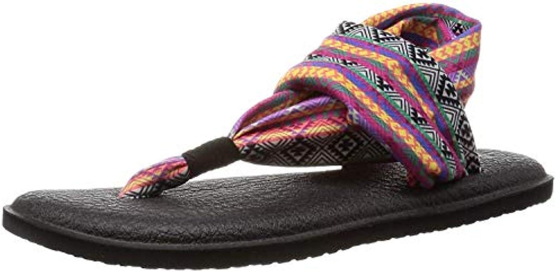Sanuk donnaÇÖs Yoga Sling 2 (37-38 M EU     7 B(M) US, Magenta Multi Tribal Stripe) | Moderno Ed Elegante Nella Moda  2c18f4