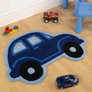 kinder blau beetle cars teppich auto geformte jungen kinder teppiche k che haushalt. Black Bedroom Furniture Sets. Home Design Ideas