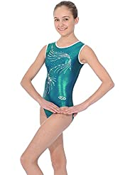 Body sin mangas con diseño de brillantes, color Mermaid, tamaño 30