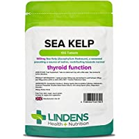 Lindens Algen 500 mg Tabletten | 100 Verpackung | Natürliche Jodquelle, die die normalen kognitiven Funktionen... preisvergleich bei billige-tabletten.eu