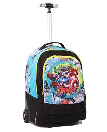 Seven avengers 239001605-519 trolley con spallacci a scomparsa, poliestere, blu