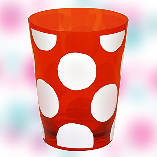 "Garden ""Big Dots""-Becher, 11,5 x 9,5 cm, Rot, Modell # 11981 (Dot Multi Big)"