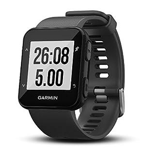 Garmin Forerunner 30 – Reloj de carrera con GPS y sensor de frecuencia cardiaca en la muñeca