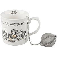 Victoria & Albert Alicia en el país de Las Maravillas Gran Juego de té, Color Blanco