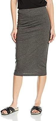 Only Onlabbie Calf Skirt Noos, Falda para Mujer