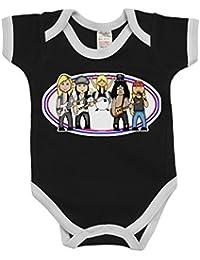 VIPwees Babygrow Dark Master Of Sabbath Boys /& Girls Baby Bodysuit
